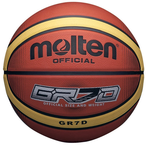 Molten GRX Size 6 Basketball-Tan