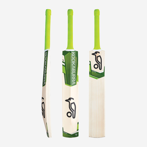 Kookaburra Kahuna Pro 9.0 Junior Cricket Bat - Green_2B10139