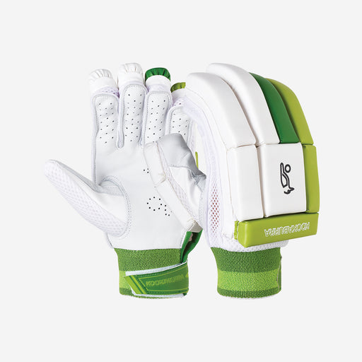 Kookaburra Kahuna Pro 5.0 Cricket Batting Gloves - Green_3A10135