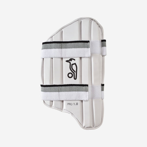 Kookaburra Pro 1.0 Cricket Thigh Guard - White_3E10101