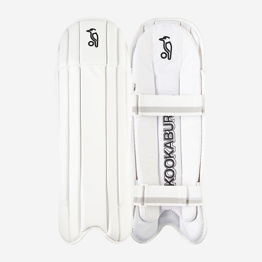 Kookaburra Pro 2.0 Wicket-Keeping Pads - White_3K10102