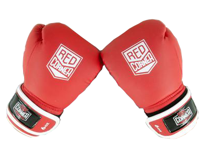 RCB SP Junior Boxing Glove 8oz - Red