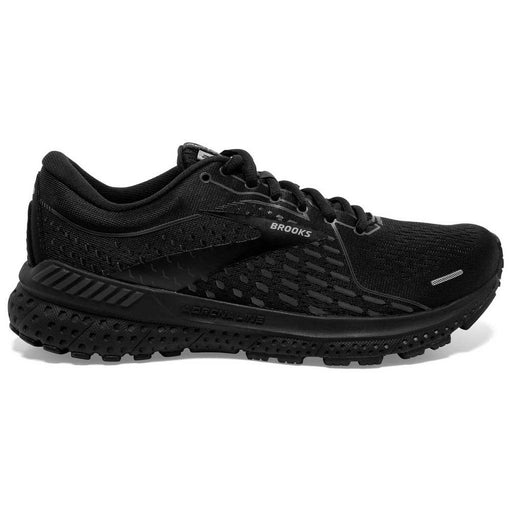 Brooks Adrenaline Gts 21 D Womens Running Shoe - Black/Black/Ebony