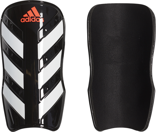 Adidas EverLesto Soccer Shin Guard - Black/White/Solar Red