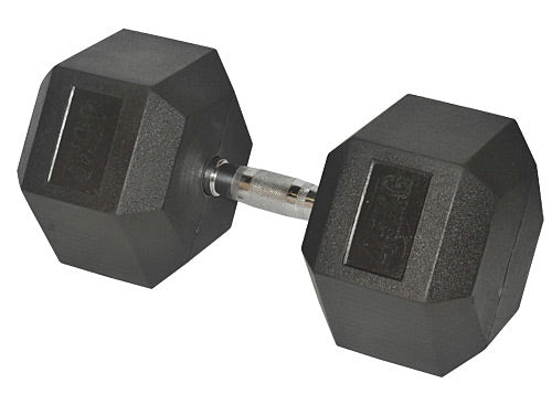 Hce Rubber Hex 45Kg Dumbbell_DB-1450-RC