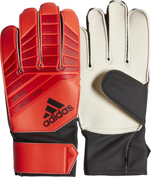 Adidas Predator JNR Goal Keeping Gloves - Active Red