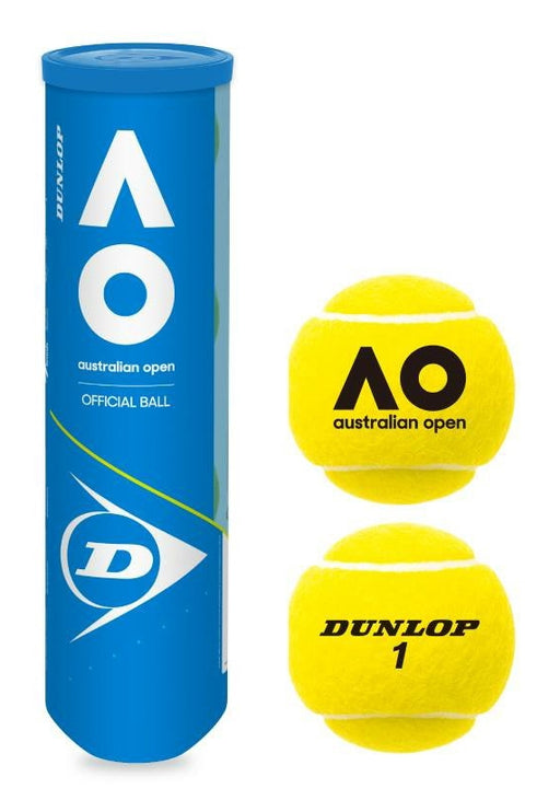 Dunlop Australian Open 4 Ball Can Tennis Balls