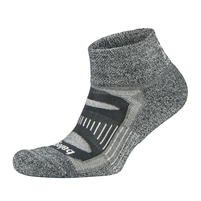 Balega Extra Large Blister Resist Quarter Socks - Charcoal_301409