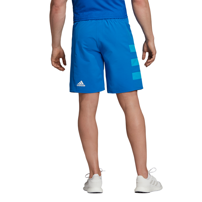 Adidas Mens All Blacks Rwc Wvn Shorts - Blue