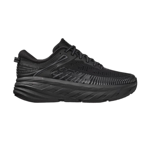 Hoka Bondi 7 Mens Running Shoe - Black/Black_1110518-BBLC