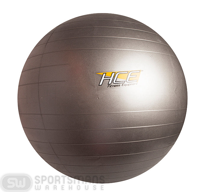 HCE 75cm Anti Burst Gym Ball - Grey_GA-1075-HC