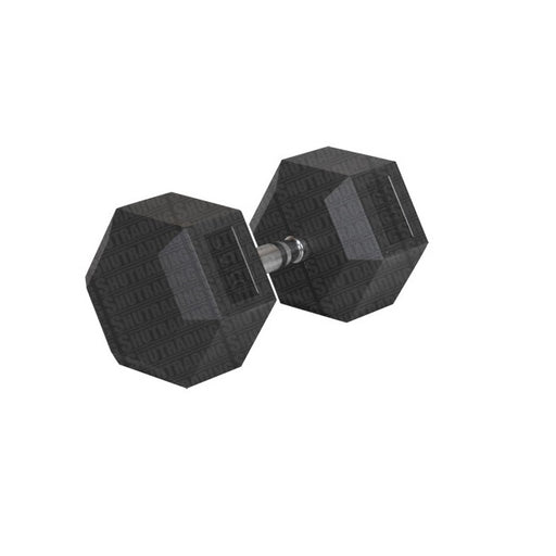 HCE Rubber Coated 40Kg Hex Dumbbell