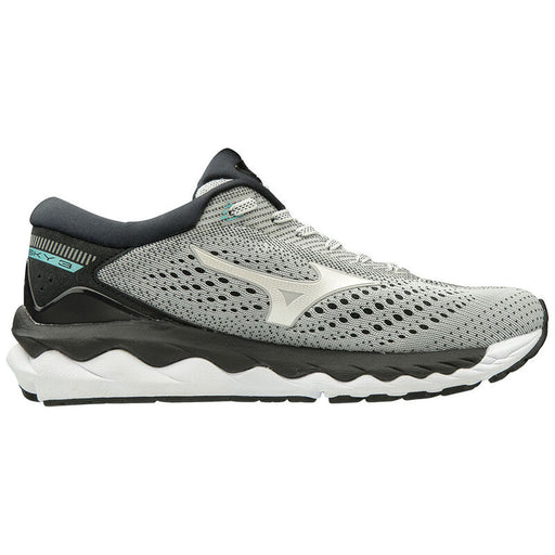 MIZUNO WAVE SKY 3 WOMENS RUNNING Q419-GREY-WHITE-9.5