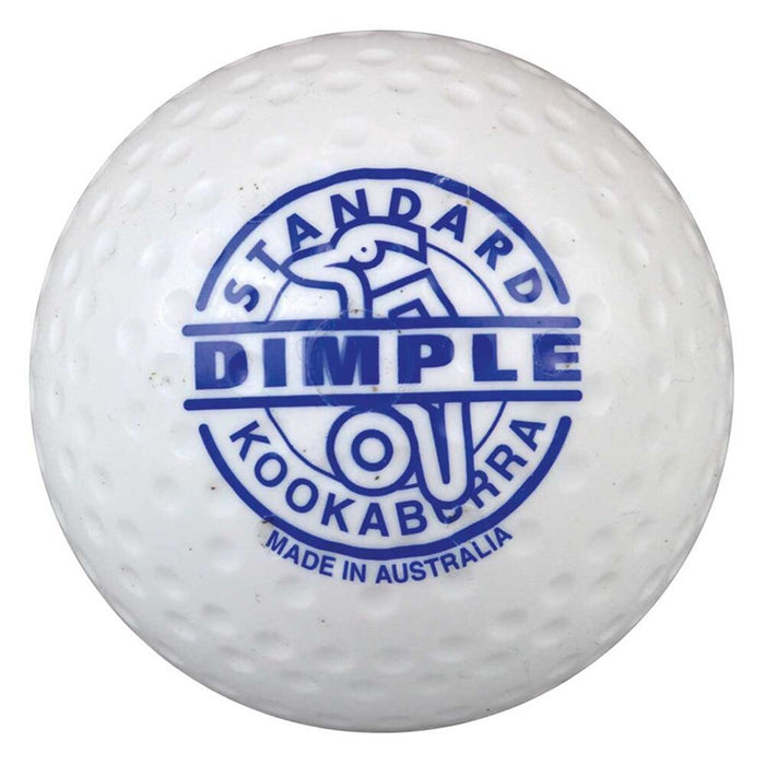 5A140102_Kookaburra Dimple Standard Hockey Ball - White