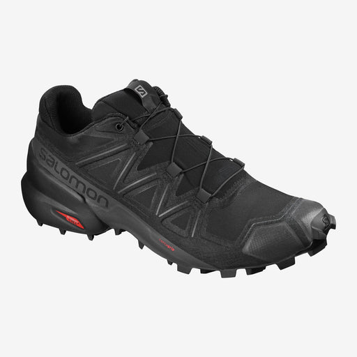 Salomon Speedcross 5 Mens Trail Running Shoes -Black/Black/Phantom_406840