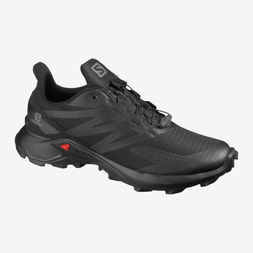 Salomon Supercross Blast Mens Trail Shoe - Black/Black_L41106700
