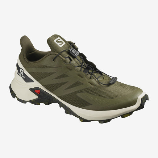 Salomon Supercross Blast Mens Trail Shoe - Olive Night/Vanilla Ice/Ebony_L41107100