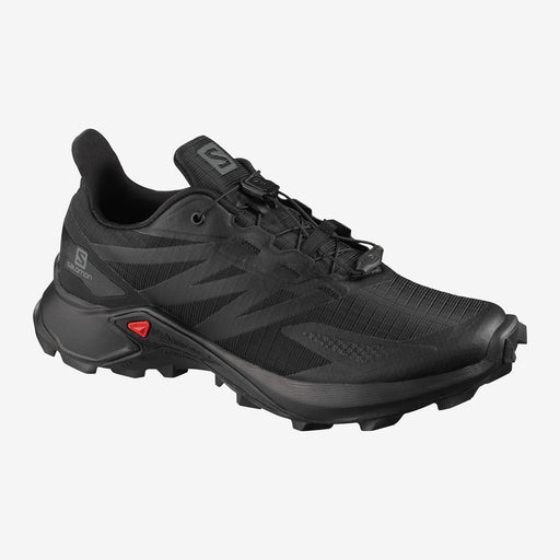 Salomon Supercross Blast Womens Trail Shoe - Black/Black_L41107300
