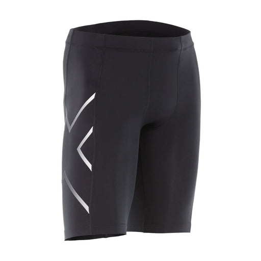 2XU TR2 Mens Compression Short - Black/Silver