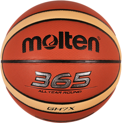 Molten GHX Series Size 6 Laminated Indoor/Outdoor Basketball - Tan/Ivory_MB BGH6X
