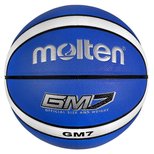Molten GMX 6 Size 6 Basketball  - Blue/White_MB BGMX6-B