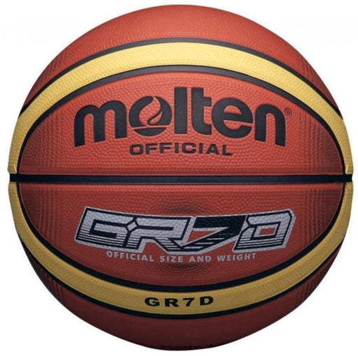 Molten GRX7 Size 7 Basketball-Tan/White