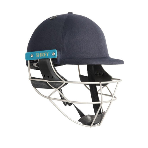 Shrey Master Class Air 2.0 Helmet With Stainless Steel Visor - Navy (Medium) CSHMC2S M