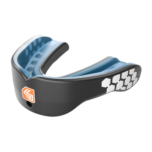 Shock Doctor Max Power Adult Mouthguard - Black_MG6901A