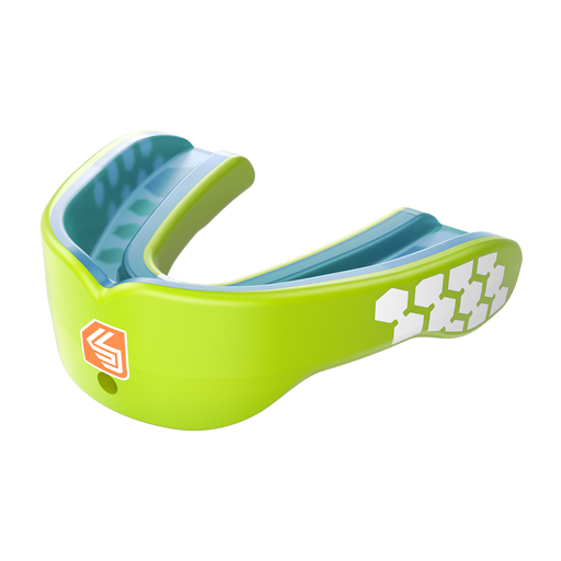 Shock Doctor Max Power Adult Mouthguard - Neon Green