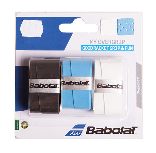 Babolat My Grip Overgrip - Black/Blue/White