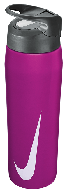 Nike Hypercharge Straw Bottle 24oz Hyper Violet/Cool Grey