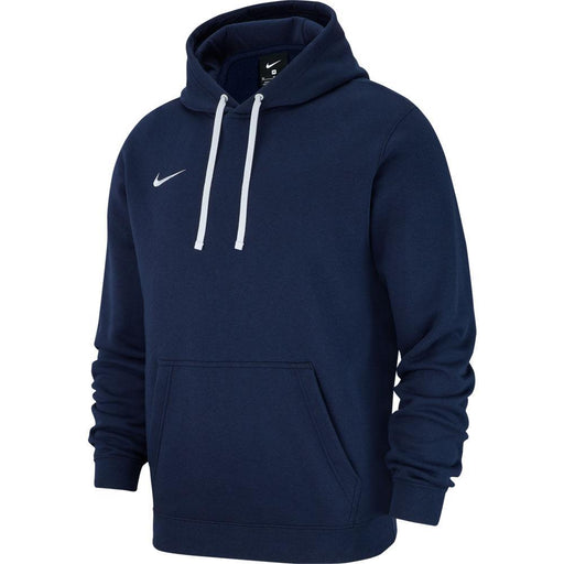 Nike Team Club 19 Youth Pullover Hoodie - Obsidian/White