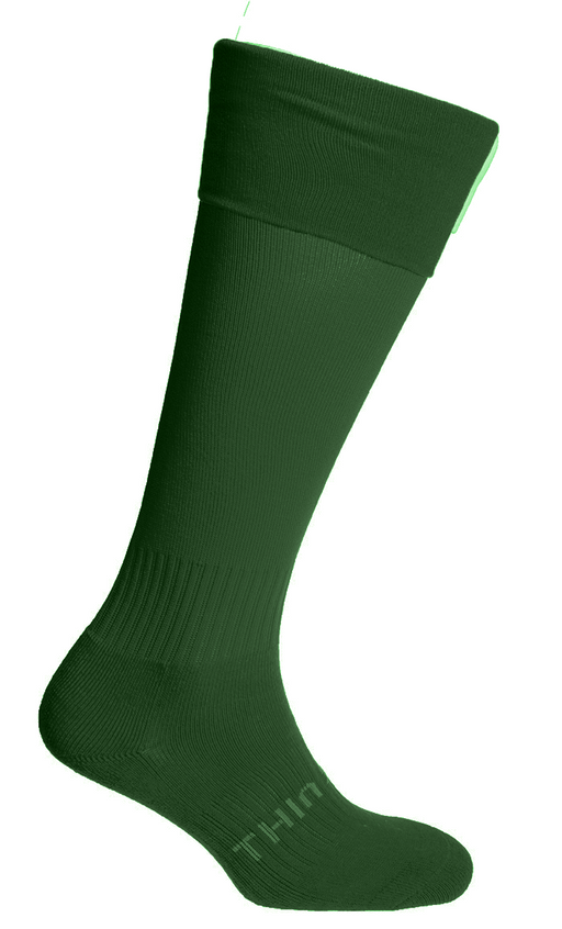 PALFS02_Thinskins Football Socks - Bottle Green