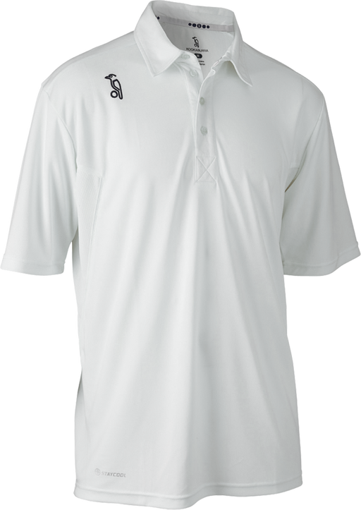 Kookaburra Pro Player Short Sleeve Cricket Shirt - White_7A181102