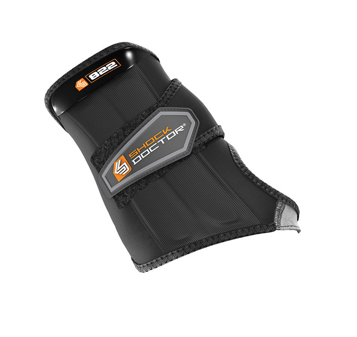 Shock Doctor Small Wrist Sleeve-Wrap Support-Black_PT822-01-32R
