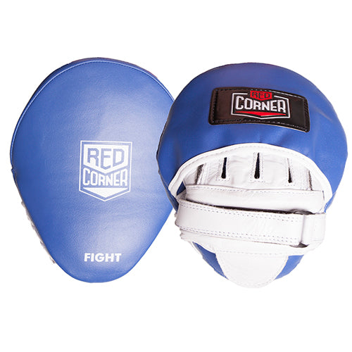 Red Corner Womens Fight Focus Pads-Blue_RCB0302-104