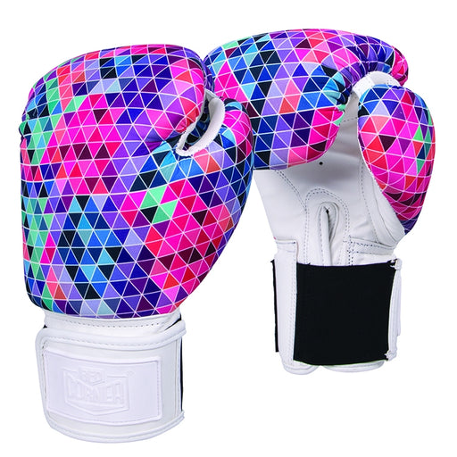 Red Corner Womens Silver Label Boxing Glove-Mosaic 2.0