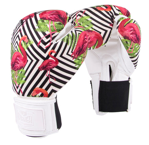 Red Corner Womens Silver Label Boxing Glove-Flamingo