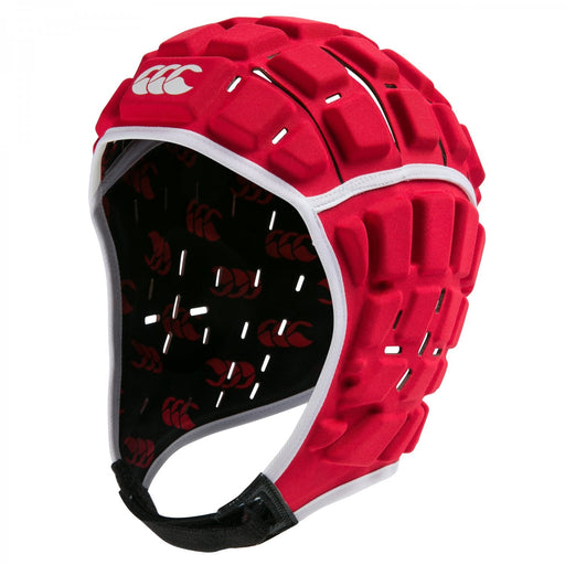 Canterbury Reinforcer Headguard Adults - True Red