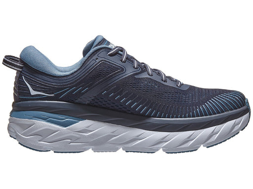 Hoka Bondi 7 Mens Running Shoe - Blue Moon/Moonlit Ocean