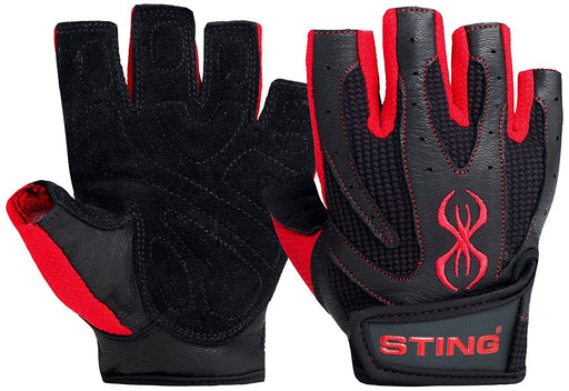 Sting Atomic Training Glove  Small-Black/Red
