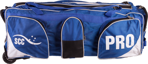 SCC Pro Wheelie Cricket Bag-Blue