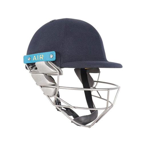 Shrey Wicket Keeping Air 2.0 Helmet With Stainless Steel Visor - Navy (Medium) CSHWK2S M