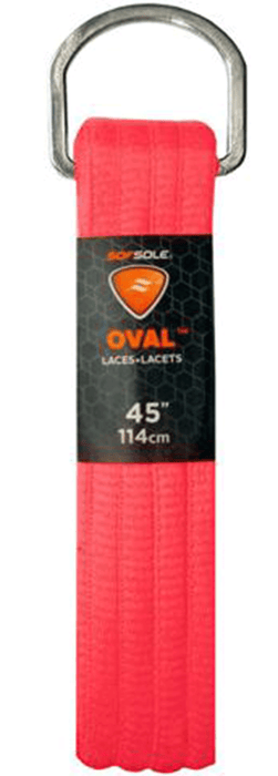 "Sof Sole Athletic Oval 45"" Laces - Bright Pink_SS84401"