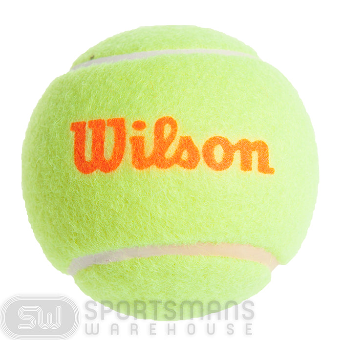 Wilson Starter 3pk Tennis Ball- Orange