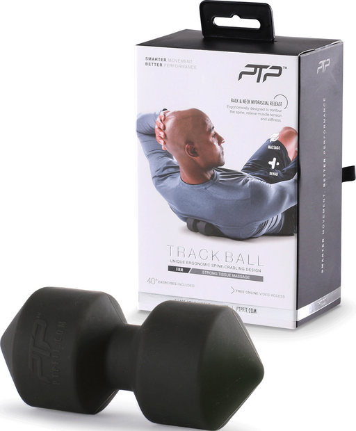 PTP Backtrack Firm Massage Balls - Black