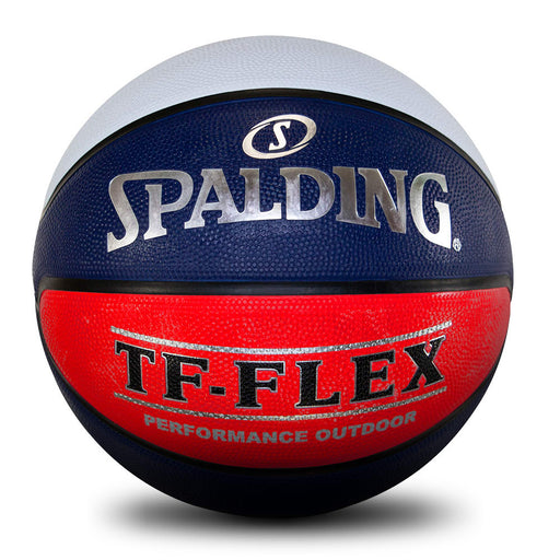 Spalding TF-Flex Outdoor Basketball-Red