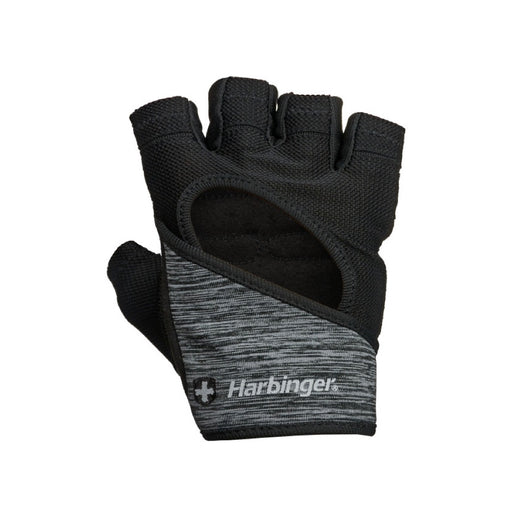 Harbinger Womens FlexFit Glove - Black (Medium)_161460