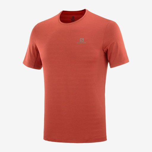 Salomon XA Short-Sleeve Mens Tee - Goji Berry/ Heather_C13745