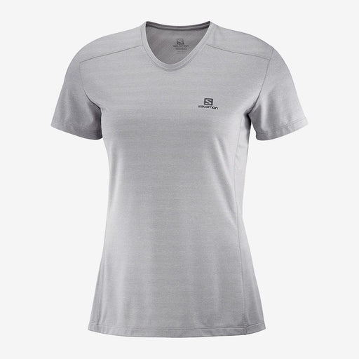 Salomon XA Short-Sleeve Womens  Tee - Alloy/Heather_LC1285100